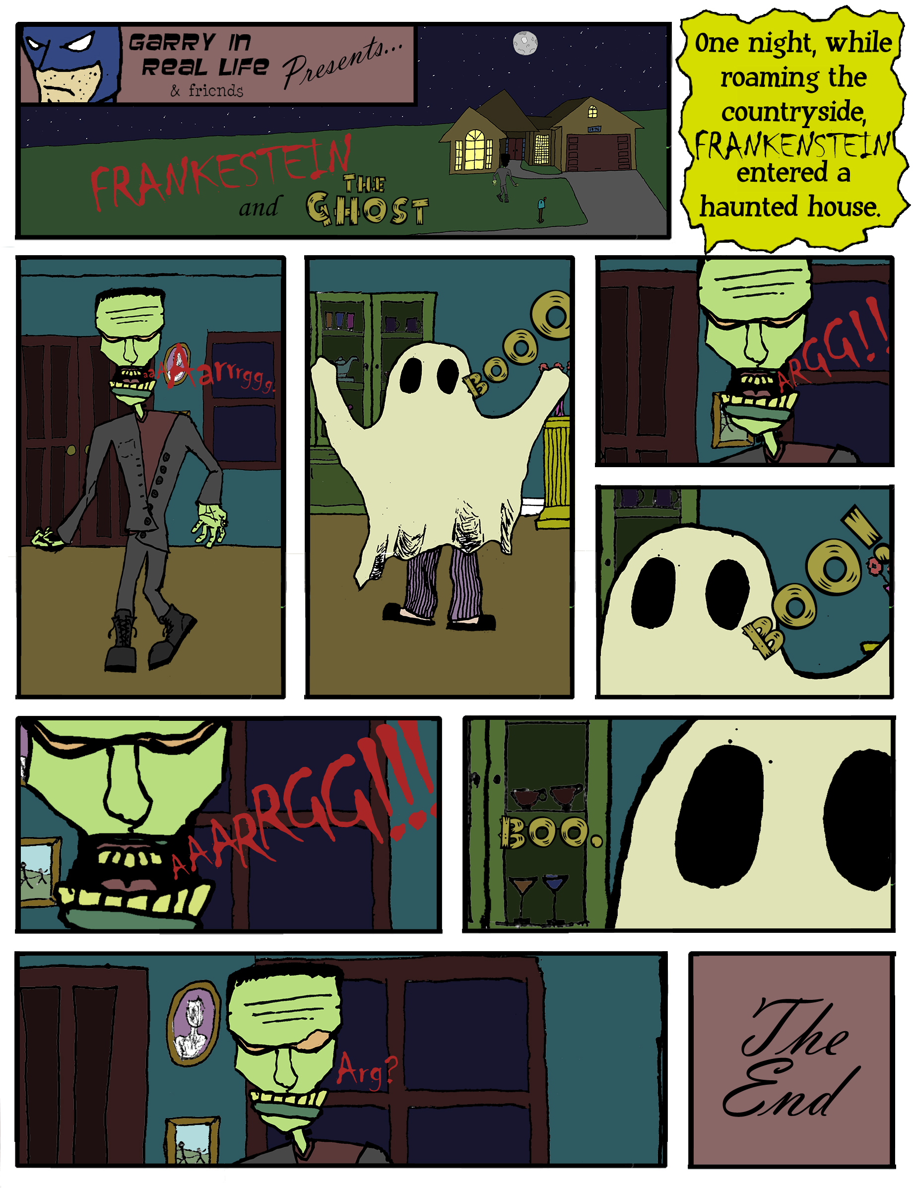 #10 - Frankenstein & The Ghost