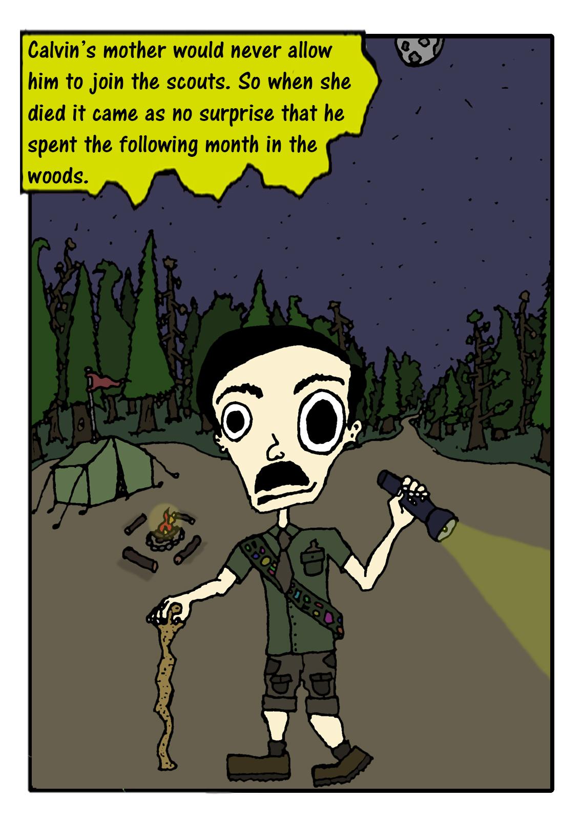 #31 Calvin In The Woods