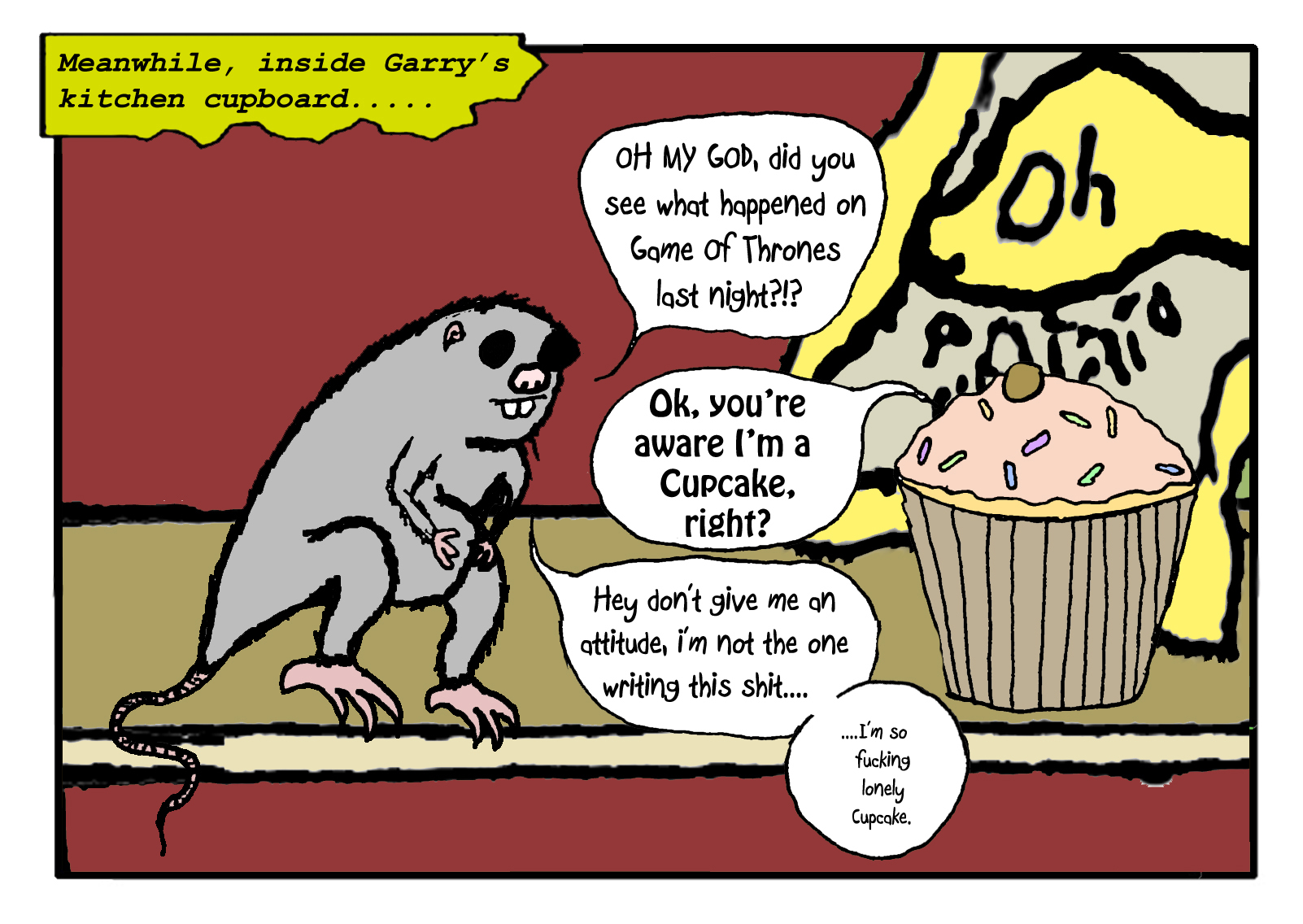 #7 - Mortimer & The Cupcake